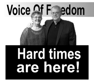 Connie and Keith Bradley Hard Times are Here
